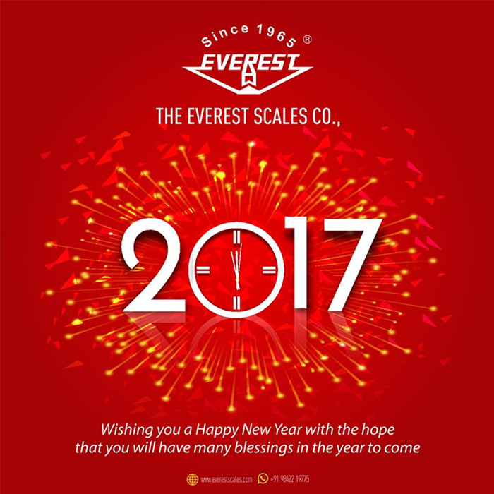 e greetings new year 2017 everest scales